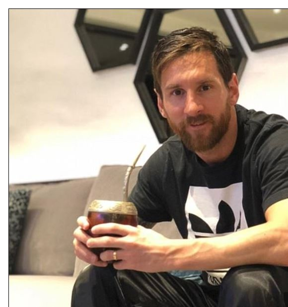 Bilderesultat for Messi yerba mate